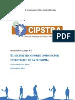 CIPSTRA - El Sector Transporte Como Sector Estratégico de La Economía