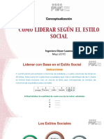 El Estilo Social - Diapositivas