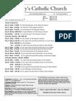 Bulletin for May 16-31, 2016