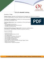 LTE ZTE ENodeB Training (1)