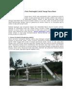 Fasilitas Lapangan Uap Pada Pembangkit Listrik Tenaga Panas Bumi.docx