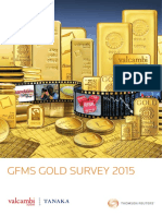 GFMS Gold Survey 2015