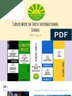 career week in tartu international school