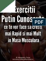 7 Exercitii Masa Musculara