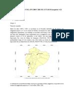 Informe sísmico año 2000 y 2001