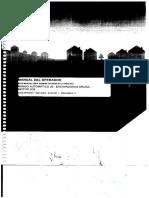 Manual de Operación y Mantenimiento Excavadora JS200 JCB
