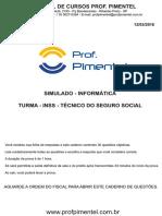 Simulado INSS Informatica Com Gabarito