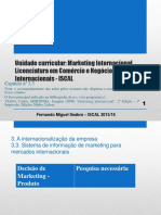 Marketing Internacional_capítulo 3.3_ 2015-2016