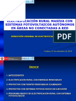 5. Electrificacion Rural Masiva