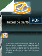 Tutorial GanttProject.ppt