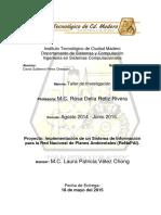 Implementación de Un Sistema de Información Para La Red Nacional de Planes Ambientales (Renapai)