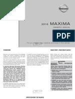 2016 Maxima