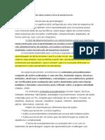 Tipologia de Análise Dos Saberes Escolares e Formas de Acompanhamento - Zanala 1998