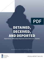 Detained, Deceived, and Deported