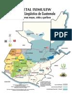 Guatemala Mapa Linguistico
