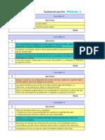 Autoevaluación módulo 1