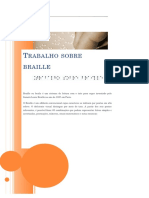 Capa Trabalho Braille