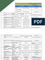 Agenda Enero 2015