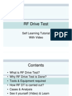 RF Drive Test Tutorial Demo Version