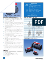 Datasheet Type 21 Ball Valves