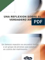 Documents.mx Una Reflexion Sobre El Verdadero Amor Un Famoso Maestro Se Encontro Frente a Un Grupo de Jovenes Que Estaban en Contra Del Matrimonio