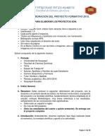 Guia Elaboracion Proyecto Formativo 2015