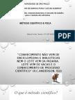 EXERCÍCIO 9- MÉTODO CIENTÍFICO E PDCA