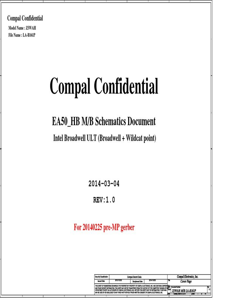 compal la b161p r1 0 schematics rh es scribd com Compal Peach Compal Branding
