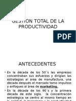 Gestion Total de La Productividad