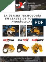Catalogo TorsionX Español