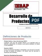 Clase 1 - Productos