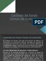 Contrato de Fondo Común de Inversión