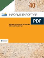 Tendencia Internacional Arroz ExportAR