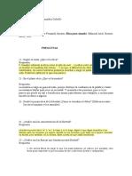 Cuestionario Del Libro de Fernando Savater Ética Para Amador