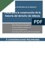 ESTRADA 2016 Notas para la construcción de la Historia del Derecho de Infancia