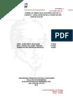 Trabajo de Procesos- Sumideros, Con Rotulo