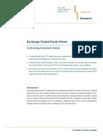 Exchange-Traded Funds Primer