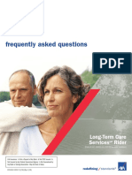 long term care services rider frequently asked questions new and enhanced