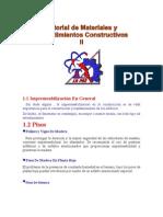Tutorial de Materiales y Procedimientos Constructivos II