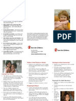 How to Help Children Cope with Transition in Disasters, November 2007