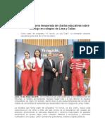 160518 NP. Lanzamiento Charlas Educativas_reciclaje