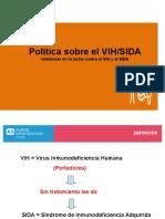 Vih-sida Para Exponer Orientacion
