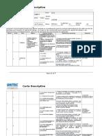 Carta Descriptiva Mfc072 Consultoría de Negocios