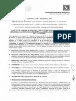 Convocatoria Nacional Embarcaciones Mayores 2014