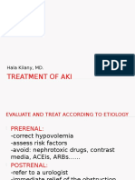 Treatment of Aki