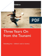 Three Years On from the Tsunami
