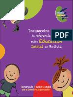 Documentos de Referencia Sobre Educación Inicial en Bolivia CBDE