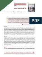 Modelos de Integración Didáctica de Las TIC en El Aula