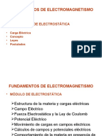 Modulo Electrostatica