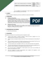 P 22.01 Proc de Registro de Horas Extras v.01 31-01-2012